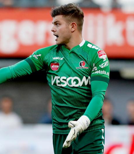 Helmond Sport-doelman Stijn van Gassel pijnigt FC Eindhoven opnieuw: 'Vooral mooi voor de supporters'