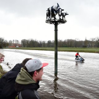 Twente is na twee droge zomers blij met wateroverlast
