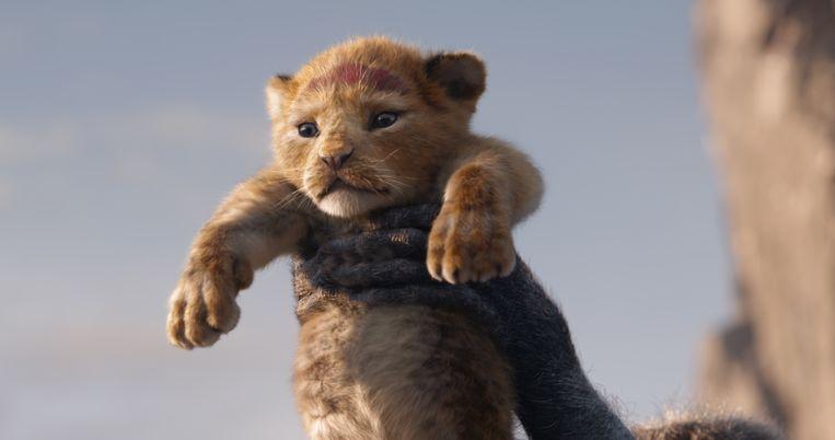 De presentatie van Simba in The Lion King. Beeld