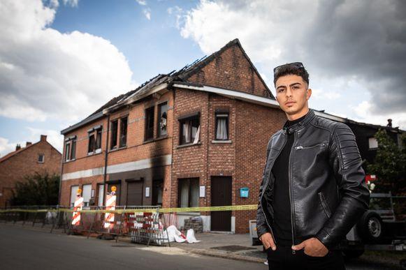 Beringenaar Mehmet Ali Erbay (24) wil geld inzamelen voor de slachtoffers van de brand in de Tennisstraat.