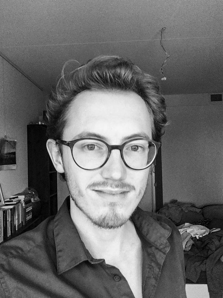 Schrijver en redacteur Sip Markink Beeld -