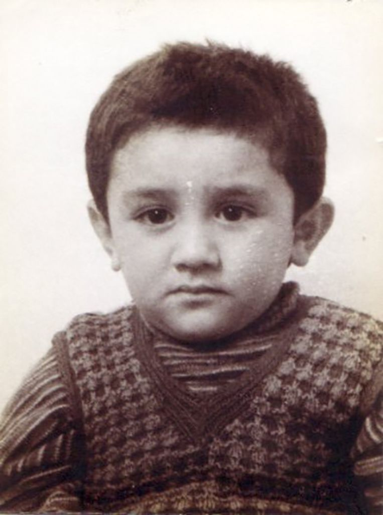 Een jonge Zihni Özdil. Beeld