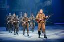 De musical 14-18 in de Nekkerhal in Mechelen in betere tijden.