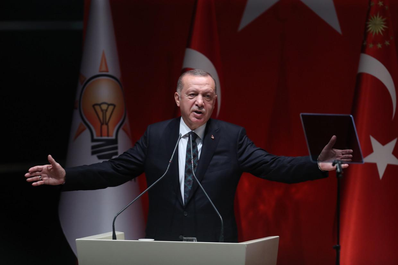Turks president Recep Tayyip Erdogan. Beeld AFP