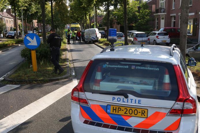 Ongeval Bredaseweg in Rijsbergen