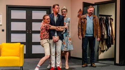 IN BEELD. BV's dromen van 't groot lot op première theaterstuk