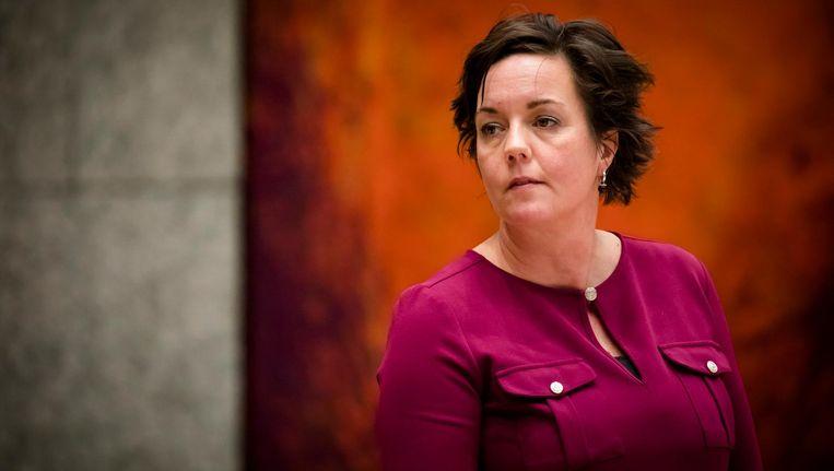 Staatssecretaris Tamara van Ark: 'Als mensen gaan werken, en als mensen méér gaan werken, wil ik dat ze er echt op vooruitgaan.' Beeld anp
