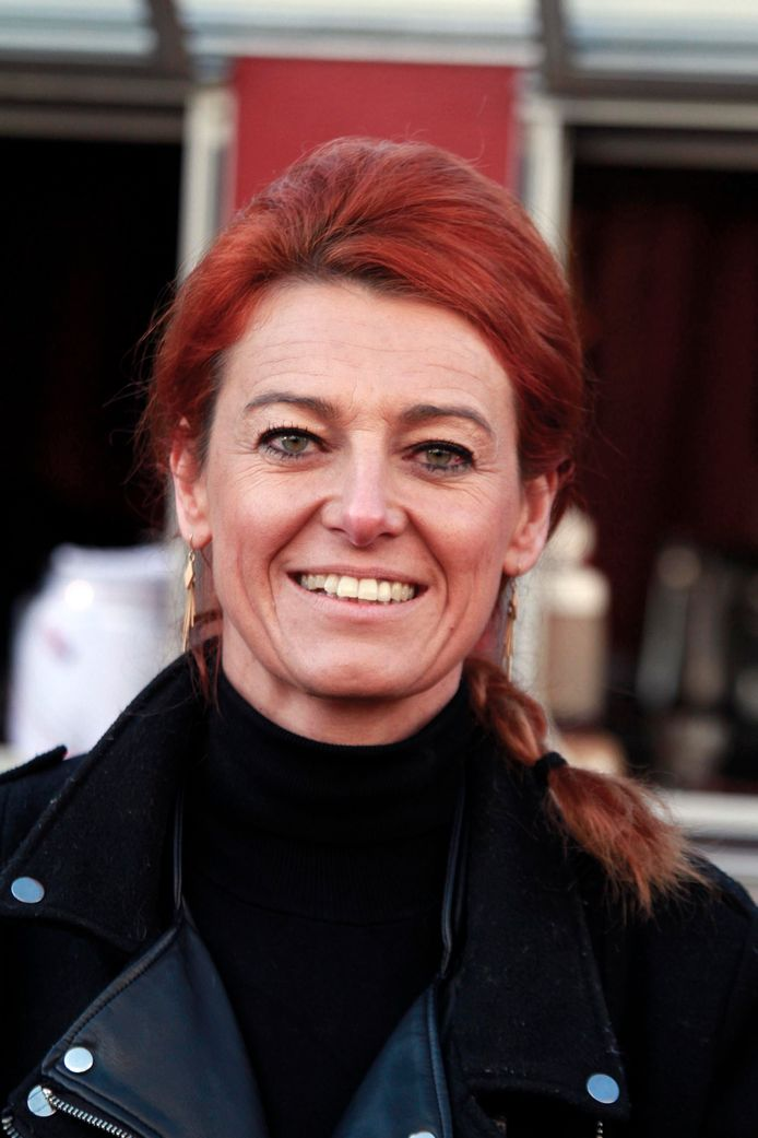 Schepen van Burgerzaken Ruth Vandenberghe.