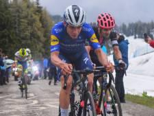 Evenepoel wil Giro na 'totale offday' wel uitrijden: 'We wisten dat dit kon gebeuren'