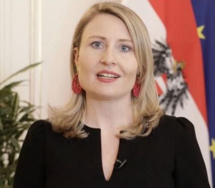 De Oostenrijkse minister van Integratie Susanne Raab.