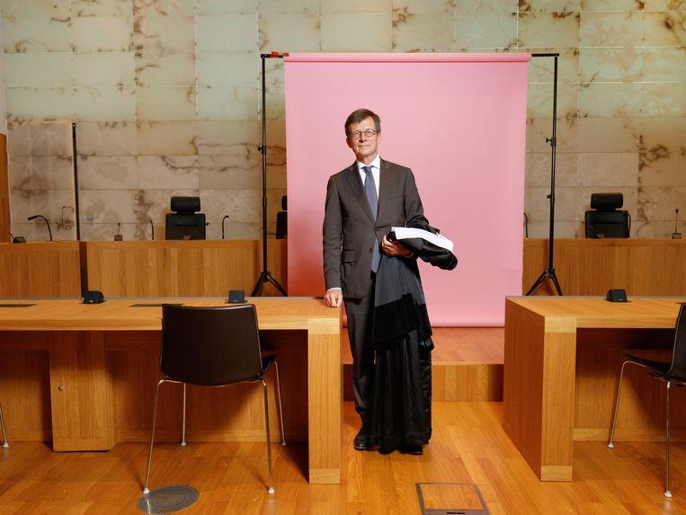 Marc Fierstra is raadsheer in de Hoge Raad en waarnemend voorzitter van de Nederlandse Vereniging voor Rechtspraak (NVvR). Beeld Ivo van der Bent