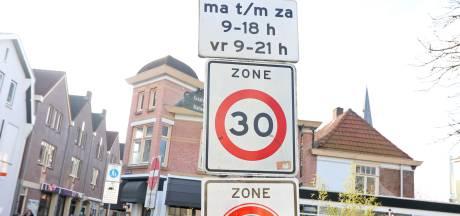 Verkeersborden weg uit Lochems buitengebied