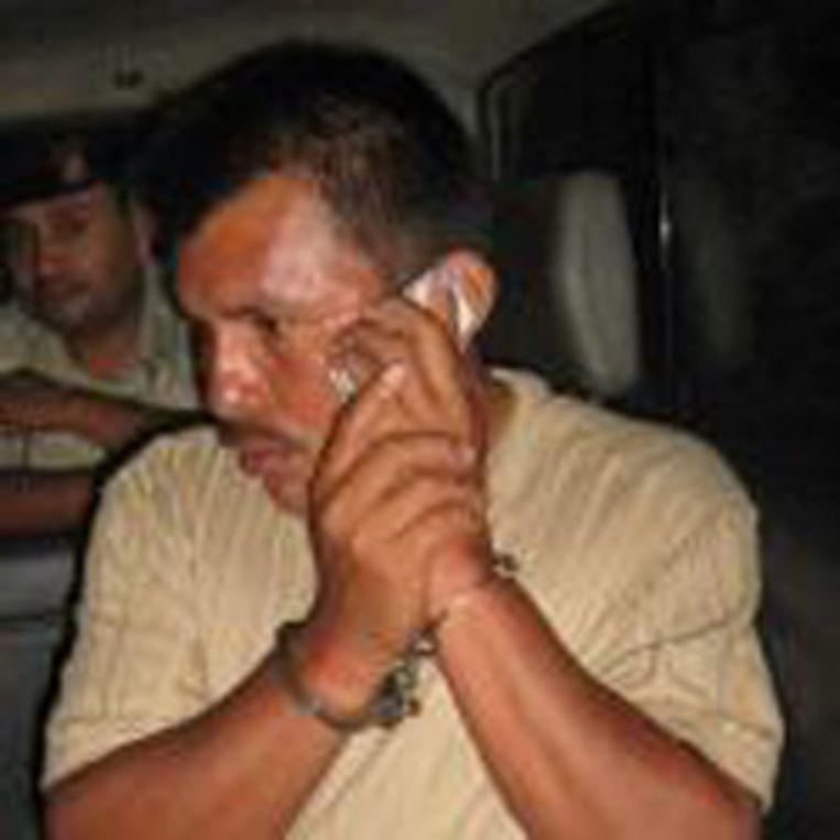De gijzelnemers eisen de vrijlating van hun leider Ramiro Choc.
