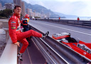 Michael Schumacher in 1998 in Monaco