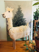 Sintsurprise: een wollige alpaca.