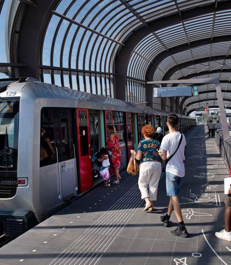 Geen metro's in Amsterdam vanwege storing