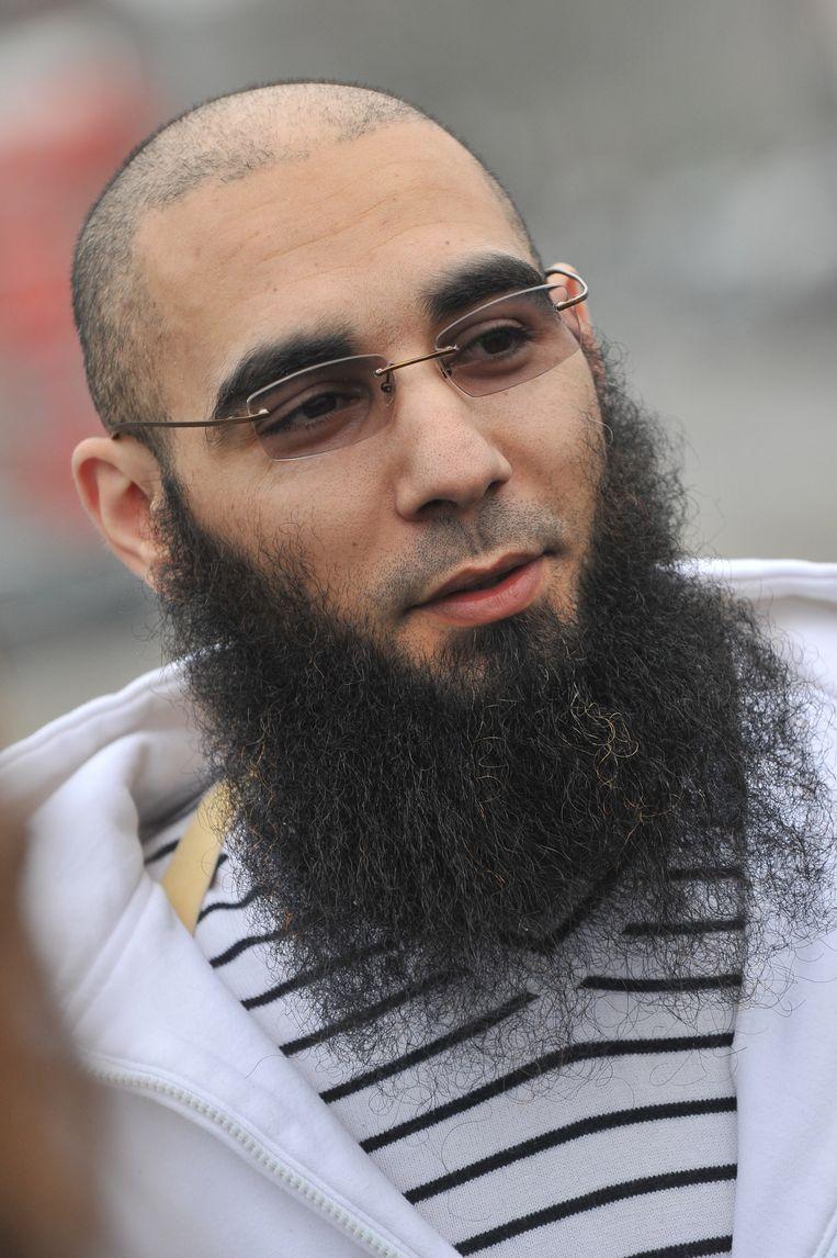 Fouad Belkacem, de vroegere woordvoerder van Sharia4Belgium Beeld BELGA