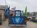 Boerenprotesten gaan maar door.