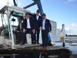 MG Real Estate bouwt magazijn in recordtempo aan Kluizendok