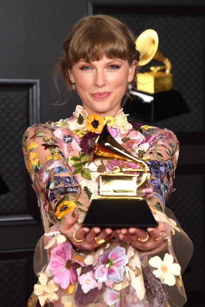 Taylor Swift schrijft geschiedenis met  drie jaar 'Beste Album' op een rij.