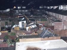 Onstuimig weer trekt door Nederland: gewonden door windhoos, schade in hele land