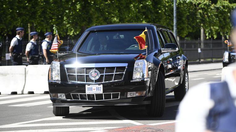 The Beast: de hyperbeveiligde auto van de president