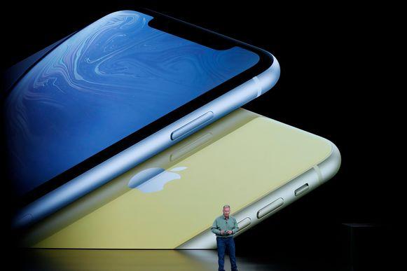 De iPhone Xr.
