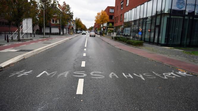 Burgemeester Ridouani (sp.a) laat graffiti verwijderen op Diestsesteenweg