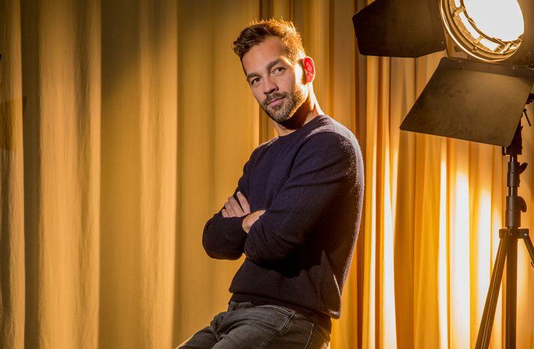 Davy Parmentier, creatief directeur bij VTM.  Beeld Photo News