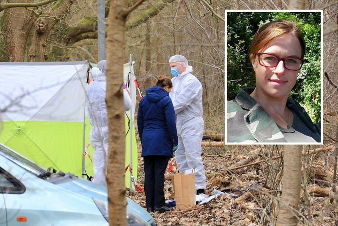 Suzanne de Jong van de politie Midden-Nederland zoekt contact met de persoon die de foetus achterliet in het bos.