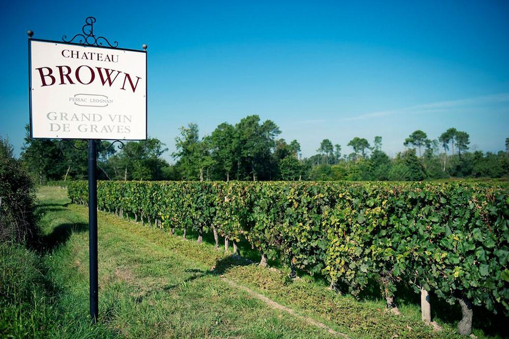 Cees Dirkzwager maakt wijn op Château Brown.