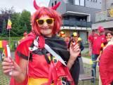 """#REDCHALLENGE. Dessel kleurt zwart-geel-rood: """"België kampioen? Da's zeker dat!"""""""