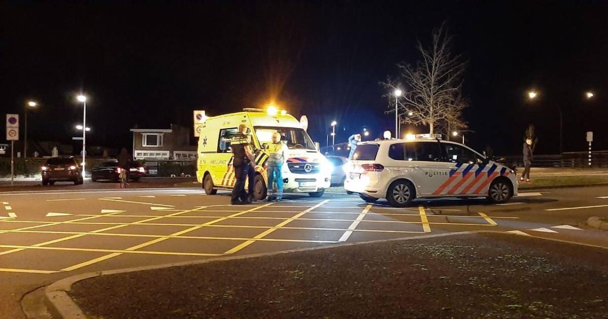 Scooterbestuurder gewond bij ongeval in Almelo.
