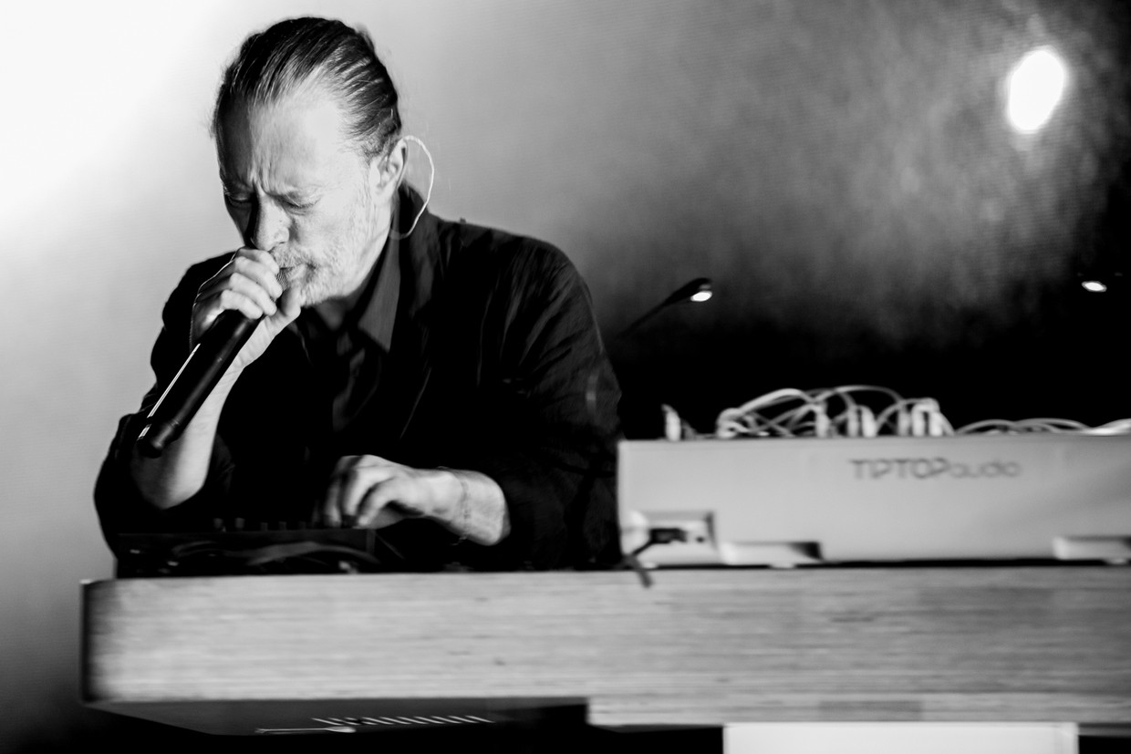 Thom Yorke Beeld Getty Images