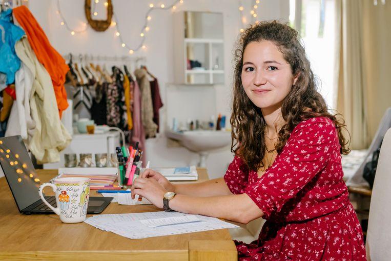Isabelle Smit (20). Beeld Erik van 't Woud