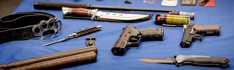 De gemeente gaat een wapeninleveractie organiseren, te beginnen in Zuidoost. Beeld ANP