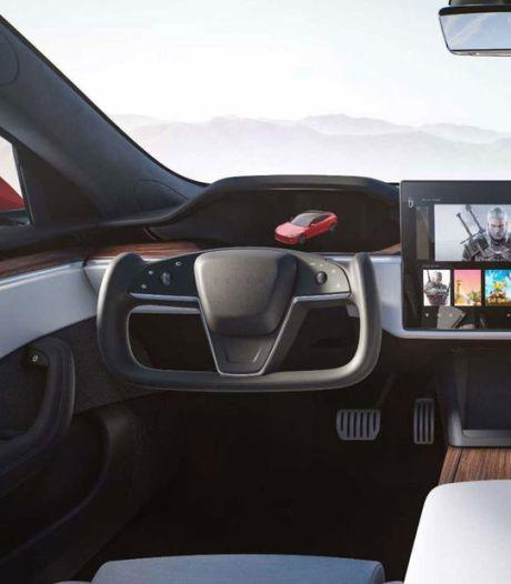 Nieuwe Tesla Model S: 1100 pk sterk, 840 kilometer rijbereik én een afgezaagd stuurwiel