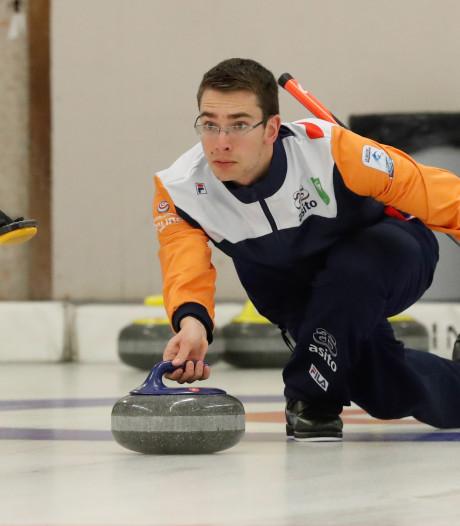 Slecht begin Nederlands curlingteam op EK in Tallinn