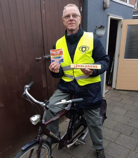 Al fietsend houdt Gert (53) Asperen veilig: 'Buurtpreventie is enorm belangrijk'