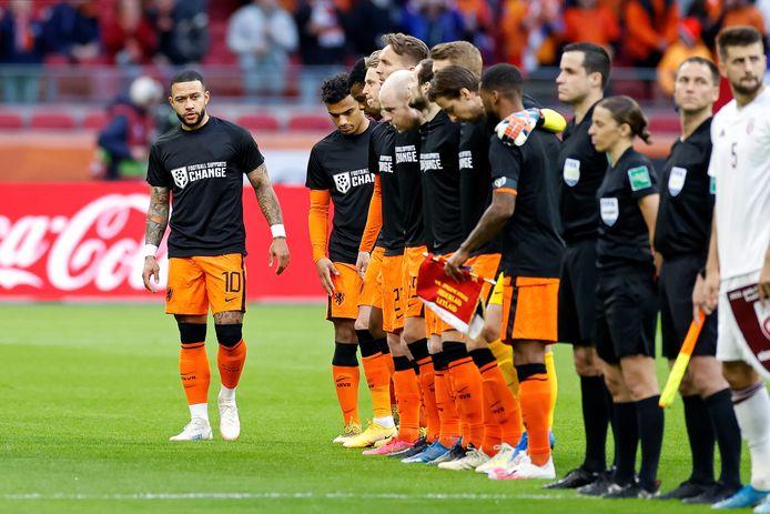 Het Qatar-statement van Oranje.