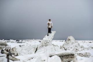 fotoreeks over De sombere schoonheid van de Noordpool