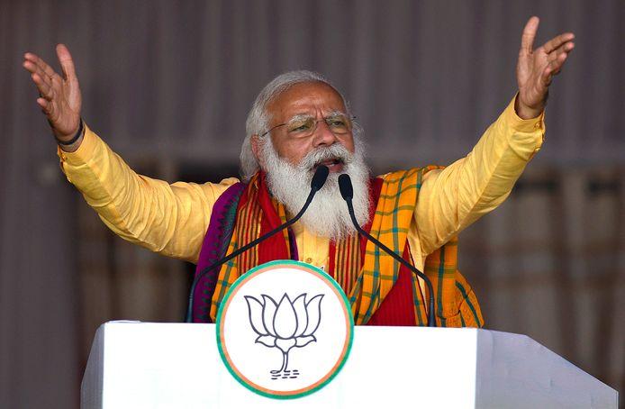 Indiaas premier Narendra Modi.