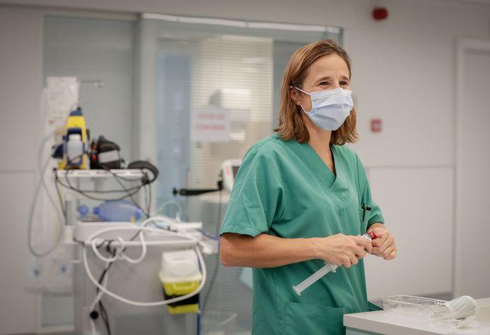 L'hôpital d'Etterbeek-Ixelles, en novembre dernier.