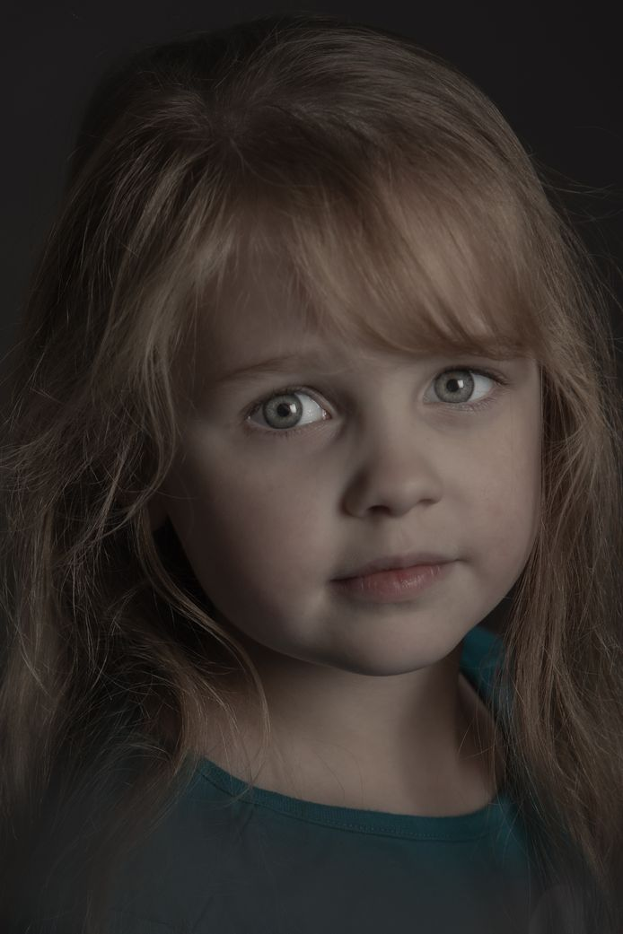 Een van de portretten van Kristel Nijskens die te zien zijn op 'Lens op de mens'.