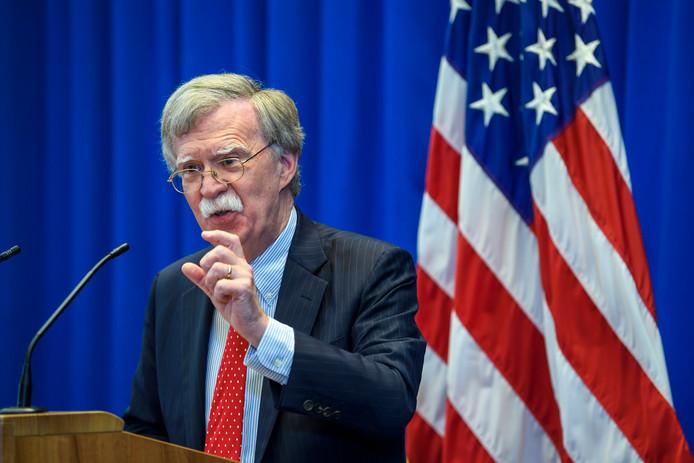 John Bolton, de Amerikaanse Nationale Veiligheidsadviseur, wil voorkomen dat Amerikanen vervolgd kunnen worden door het Internationaal Strafhof.