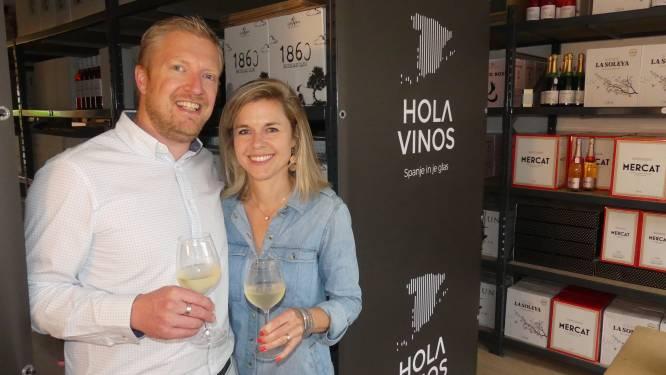 Van Spaanse les naar Spaanse wijn: Hannelore lanceert wijnwebshop met degustatieruimte