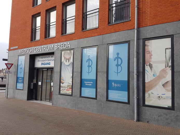 Medisch Centrum Breda aan de Minderbroedersstraat in Breda.