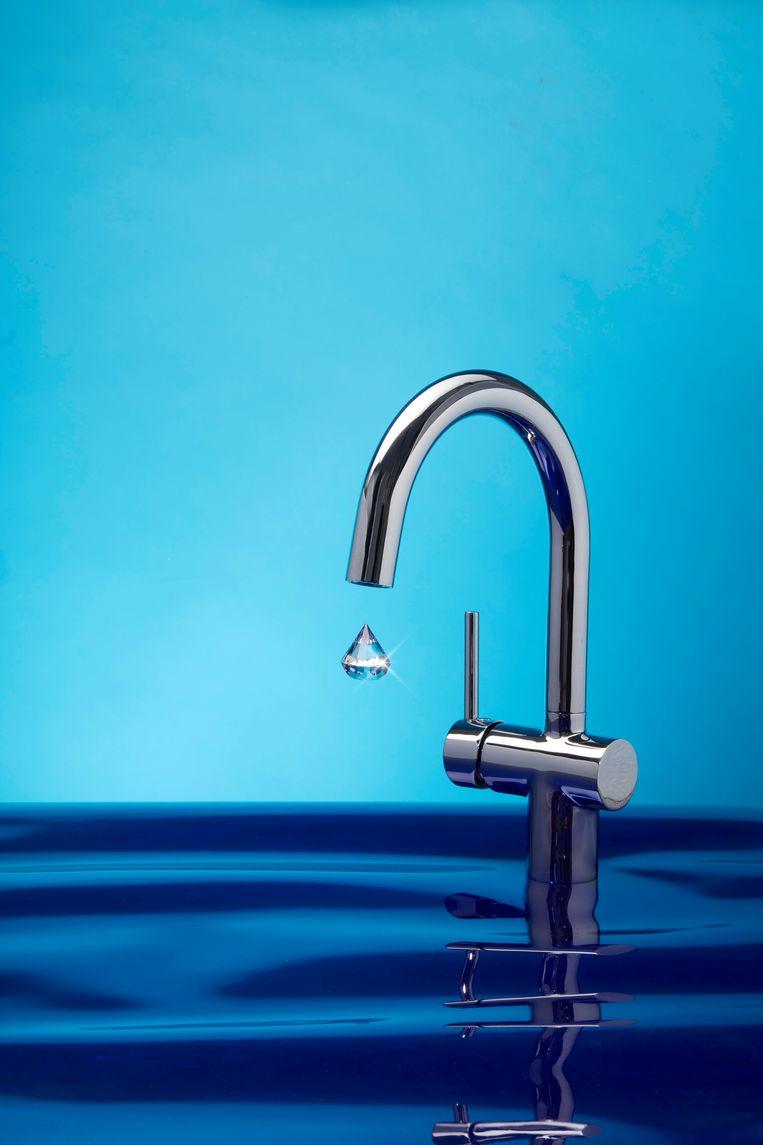 Marjolein Vanoppen, wateronderzoeker: 'We hebben alle oplossingen nodig. Drinkwaterbedrijven kijken zo steeds meer richting zeewater en brak water.' Beeld Van Santen & Bolleurs
