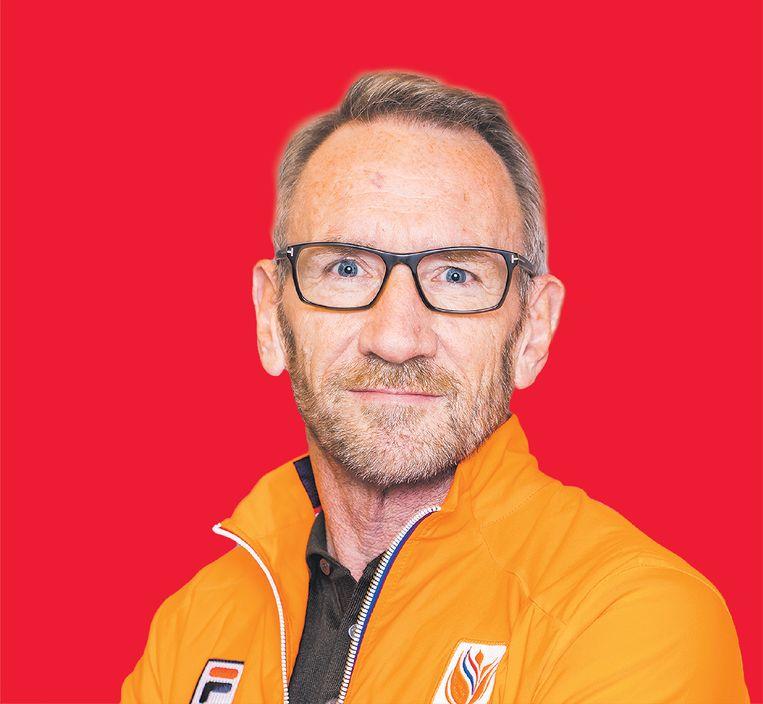Ad Roskam, technisch directeur Atletiekunie. Beeld Hollandse Hoogte /  ANP