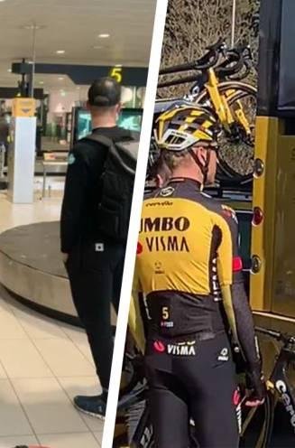 Jumbo-Visma en Van Aert al op verkenning over Toscaanse grindwegen, Van der Poel moet met andere fiets koersen